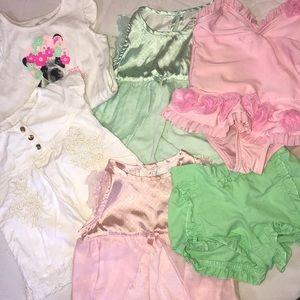 Pastel colors baby bundle